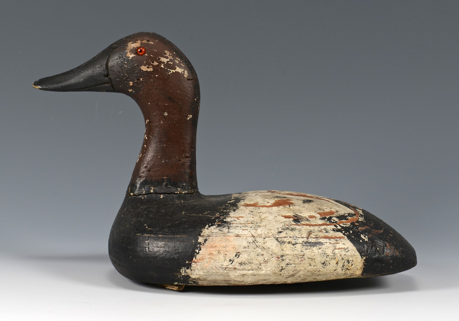 Lot 674: Group of Bird decoys and 19th c. prints