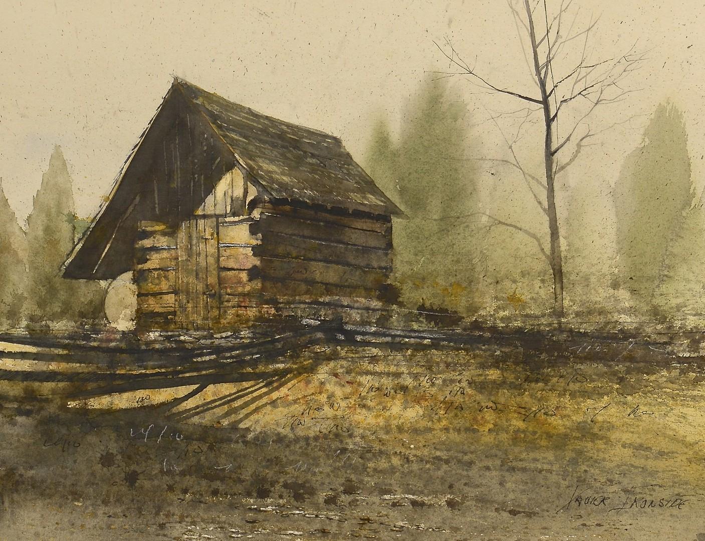 Lot 682: 2 Xavier Ironside Watercolors