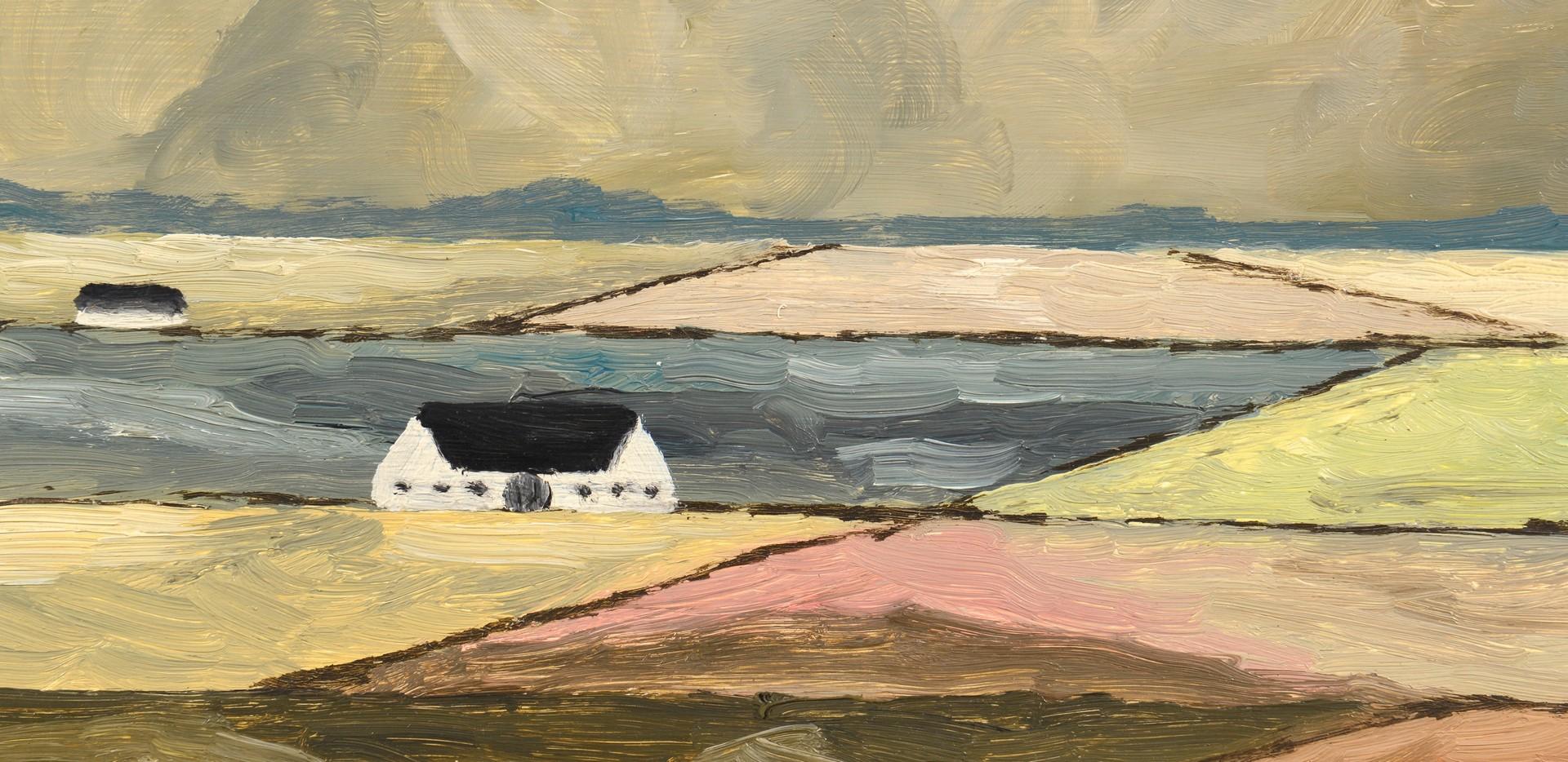 Lot 689: 3 Paintings: 1 Tom Riesing & 2 Th Goth