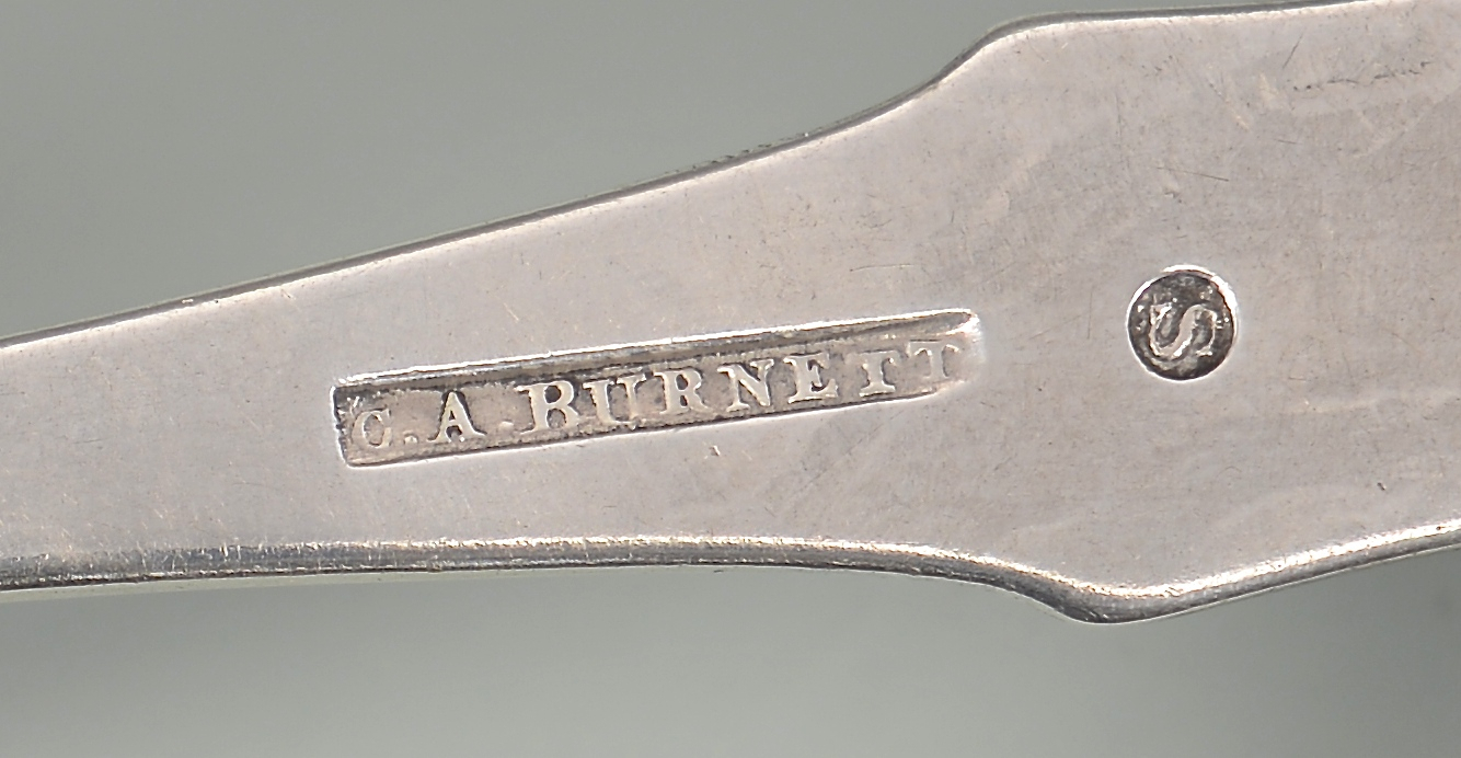 Lot 68: 4 coin silver items inc. SC & VA, and Phila.