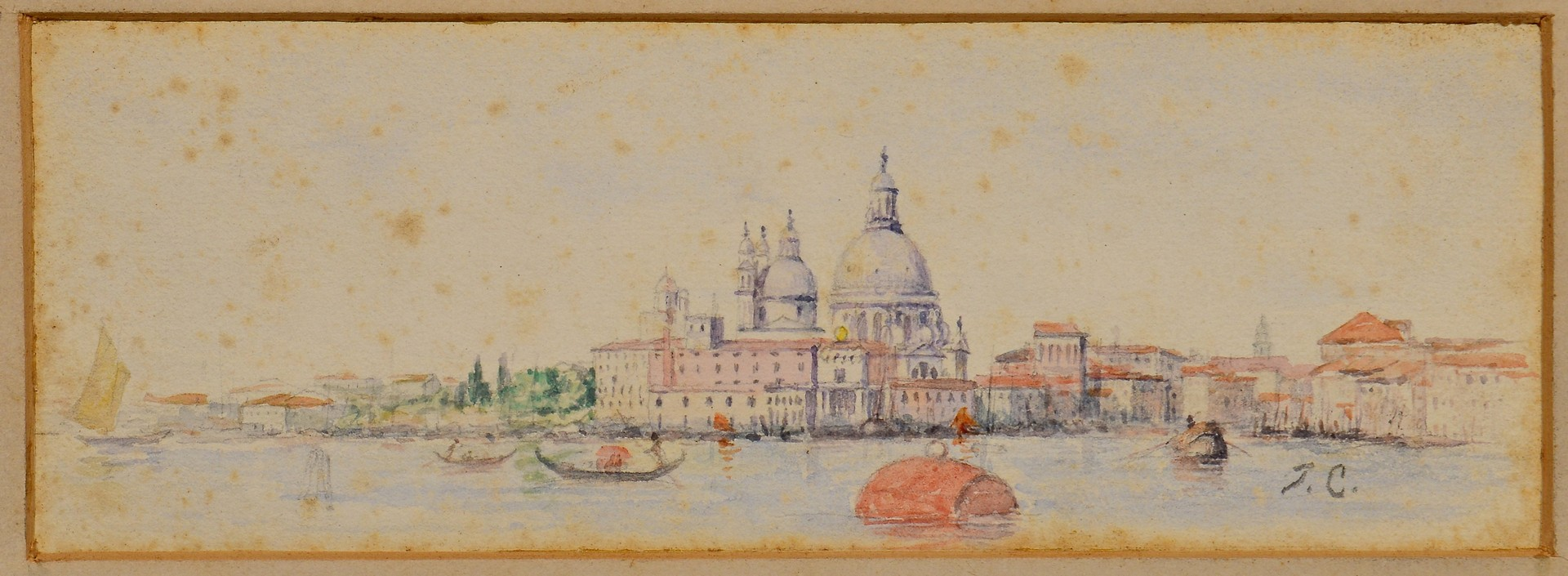 Lot 693: 3 Thomas Campbell paintings
