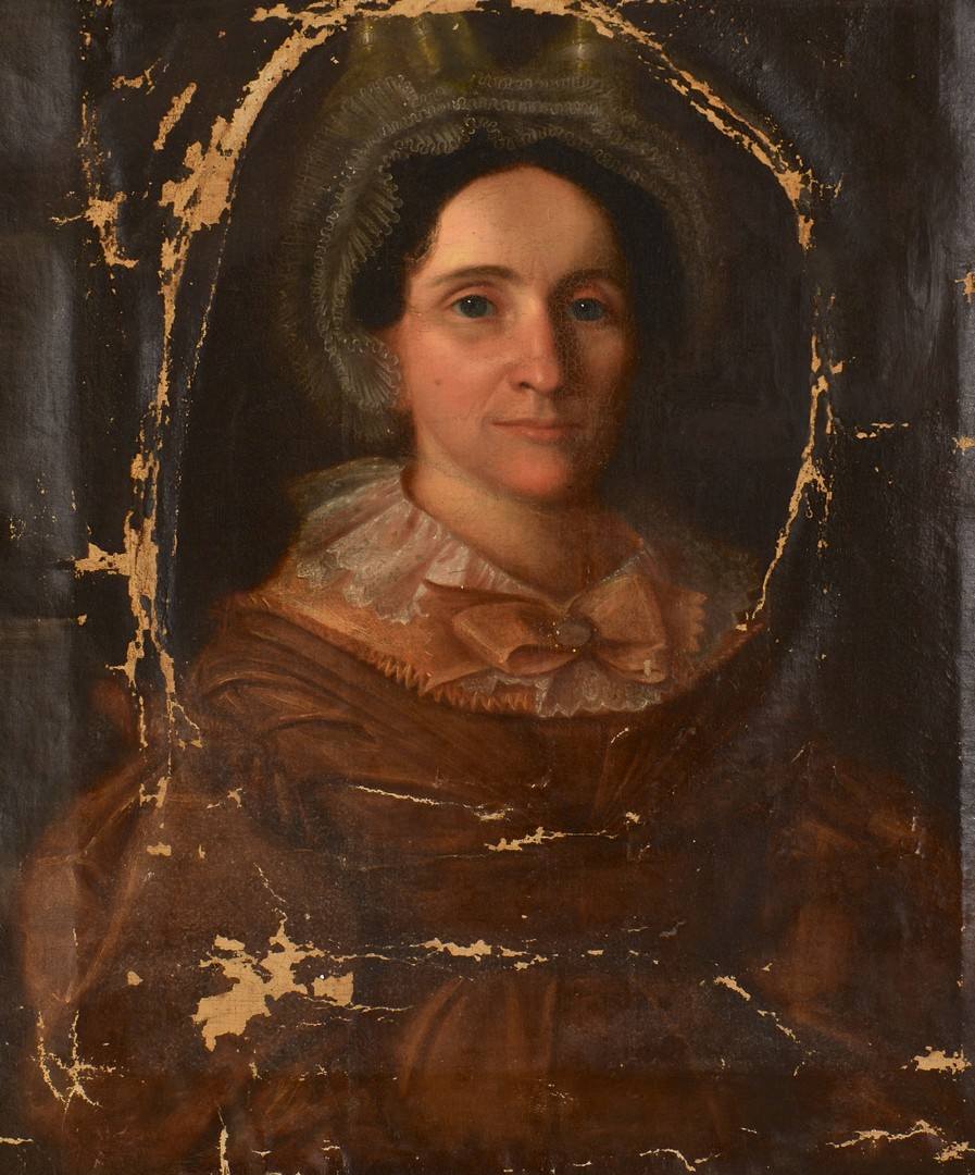 Lot 694: Tennessee Portrait of a Lady