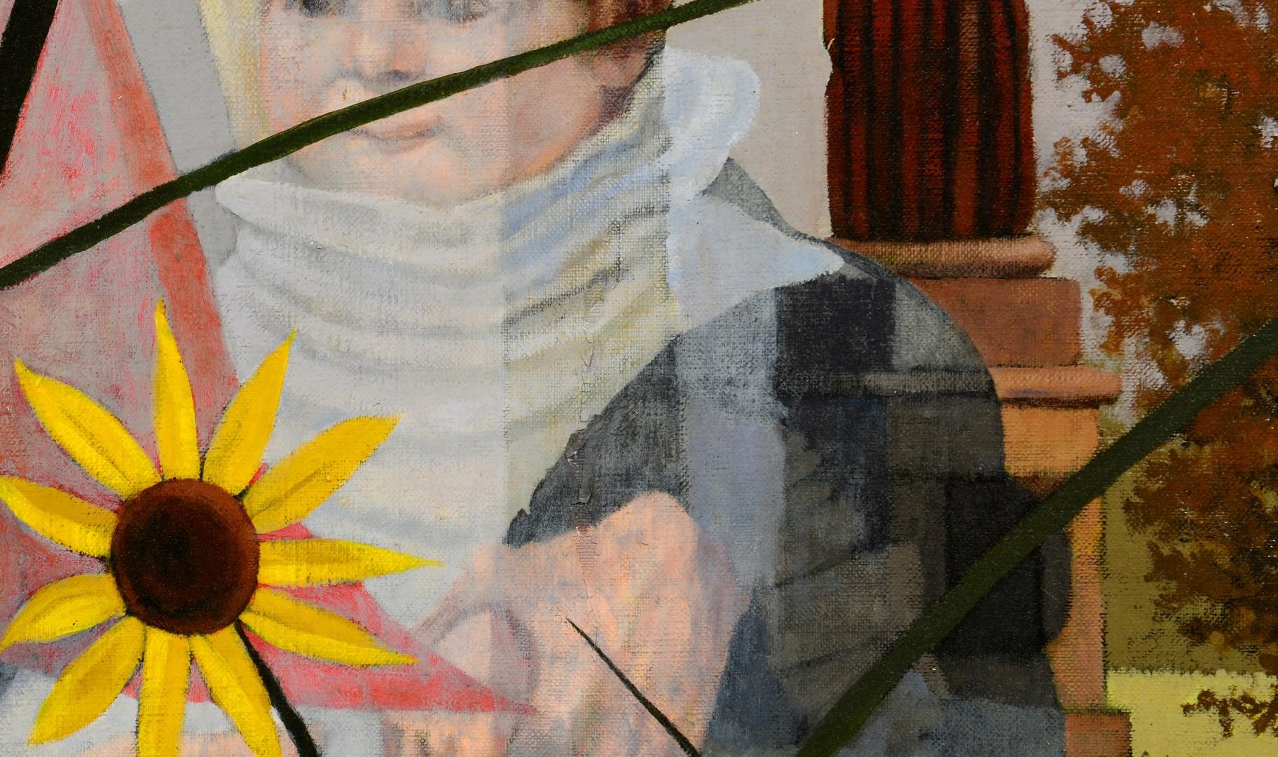 Lot 696: Rolland Golden Louisiana Oil on Canvas