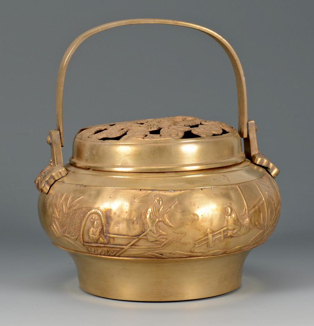 Lot 717: 5 Asian Decorative Items