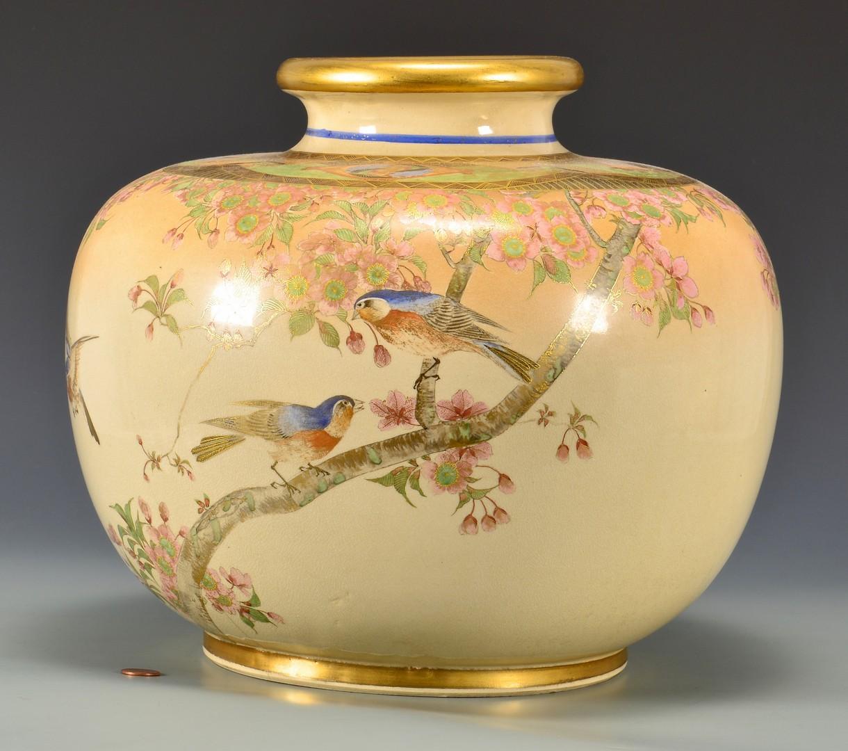 Lot 718: Large Japanese Porcelain Urn