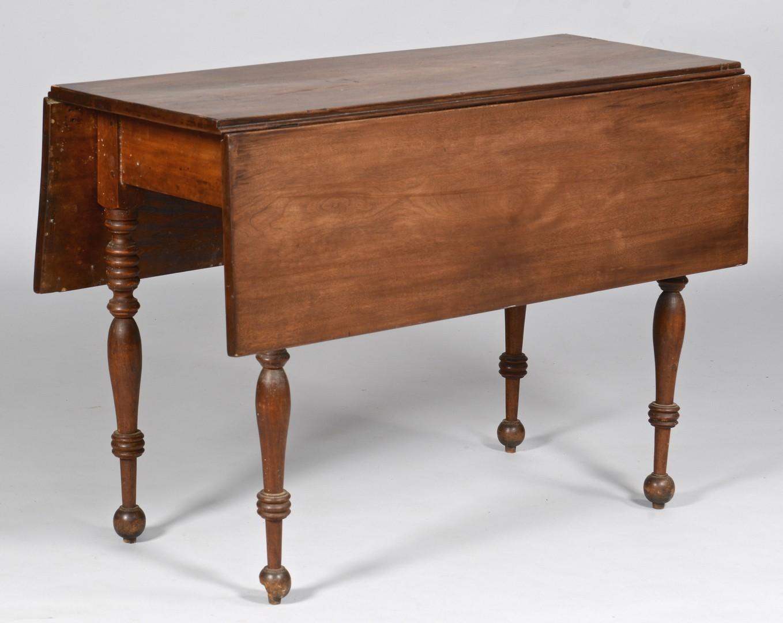 Lot 731: Walnut Drop-leaf Table