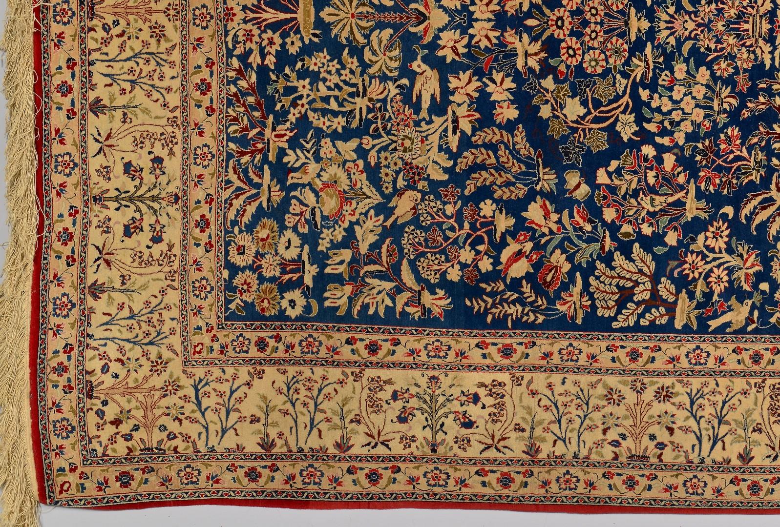 Lot 743: Persian Isphahan or Naien Rug