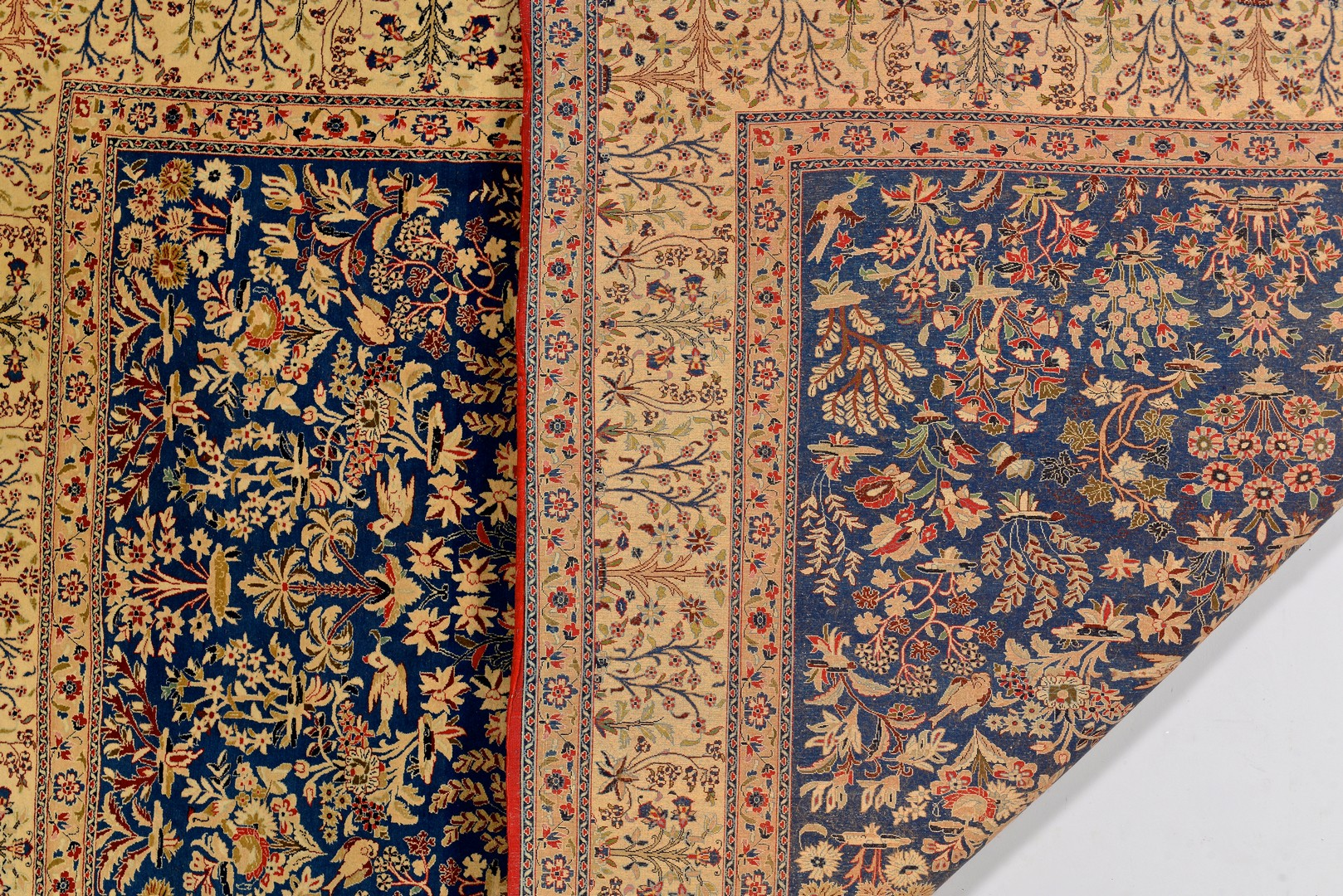 Lot 743: Persian Isphahan or Naien Rug