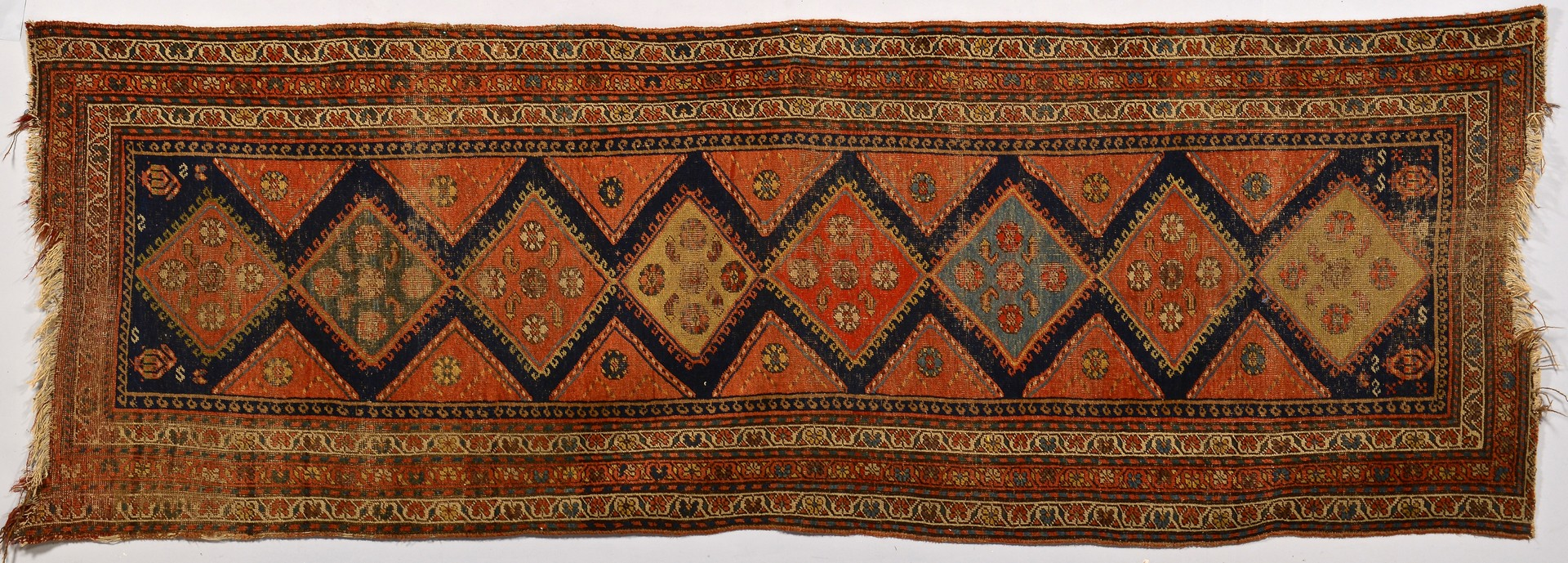 Lot 744: 2 Caucasian Rug Runners