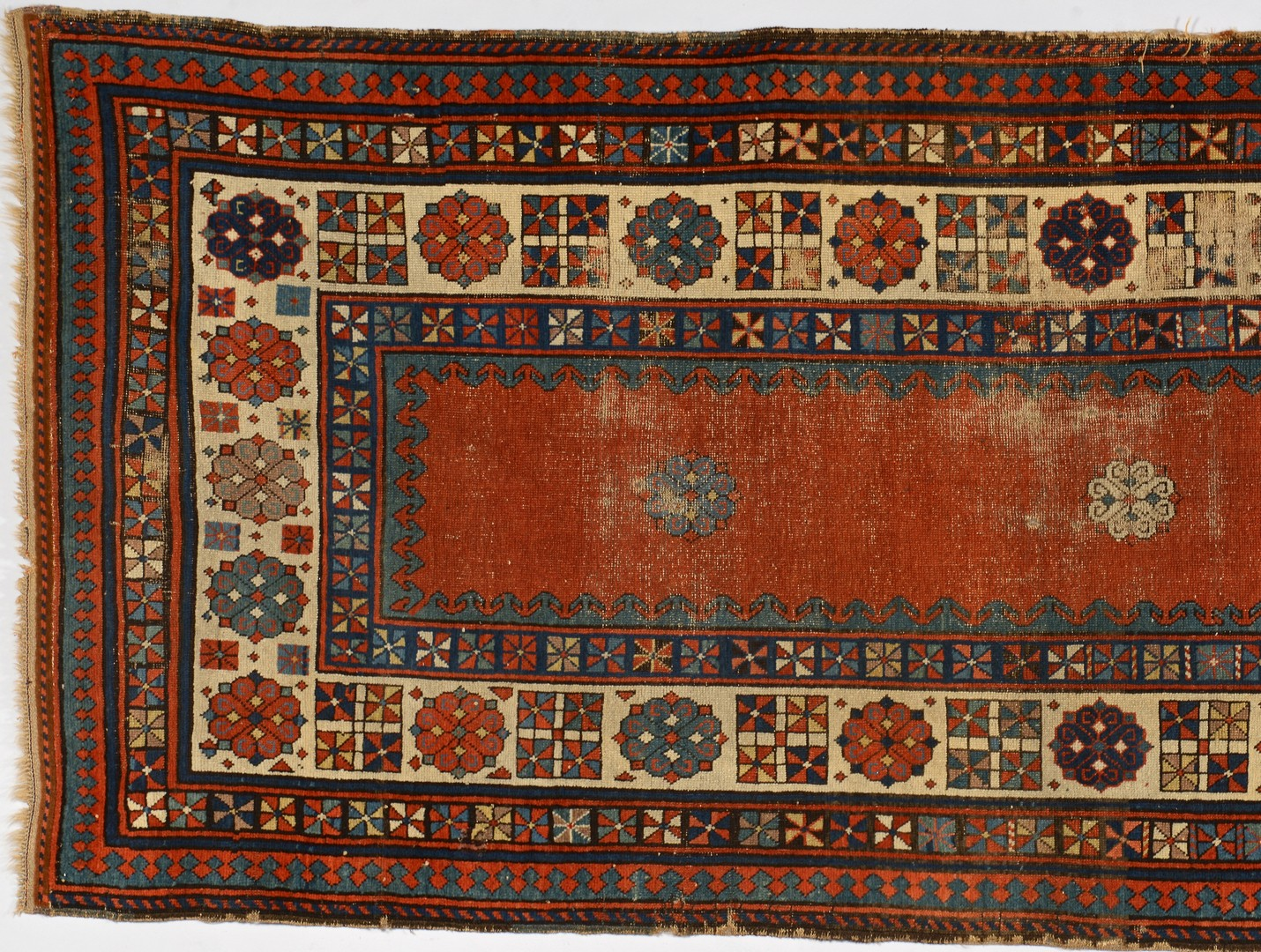 "Lot 745: Caucasian Talish Rug Runner, 96"" x 42"""