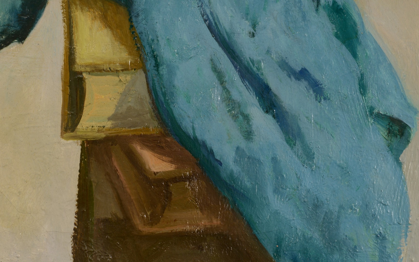 Lot 754: Lucious Crowell Oil on Canvas Still Life