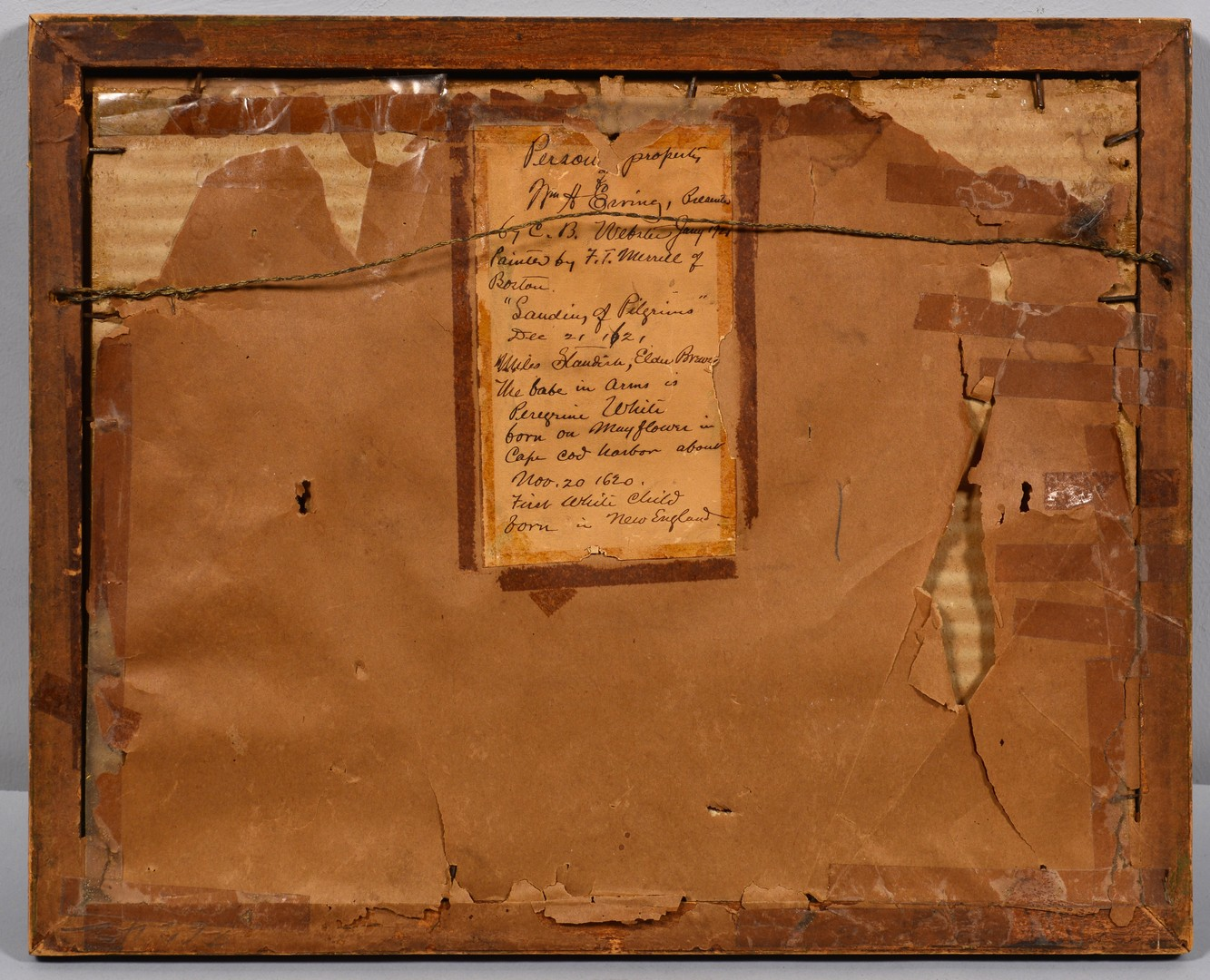 Lot 755: Frank T. Merrill Watercolor on Paper