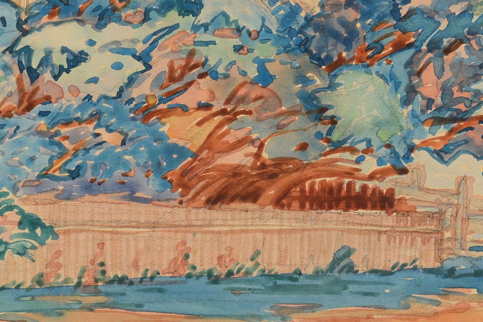 Lot 756: Mackinac Island Watercolor, Margaret Hiner
