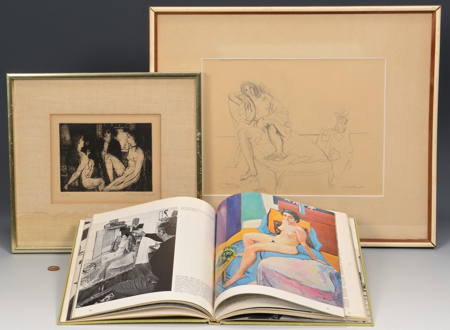 Lot 763: 2 Warren Brandt Works and book