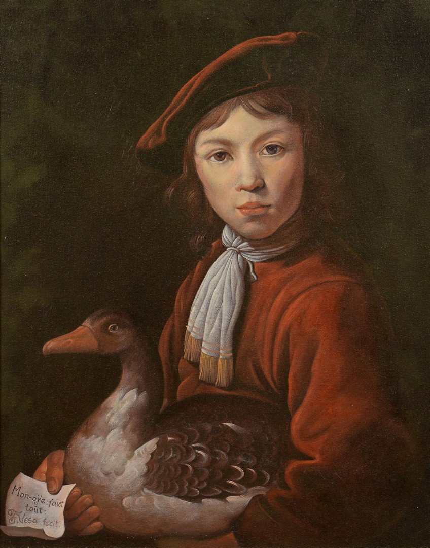 Lot 764: Florentin Vesa Oil on Canvas