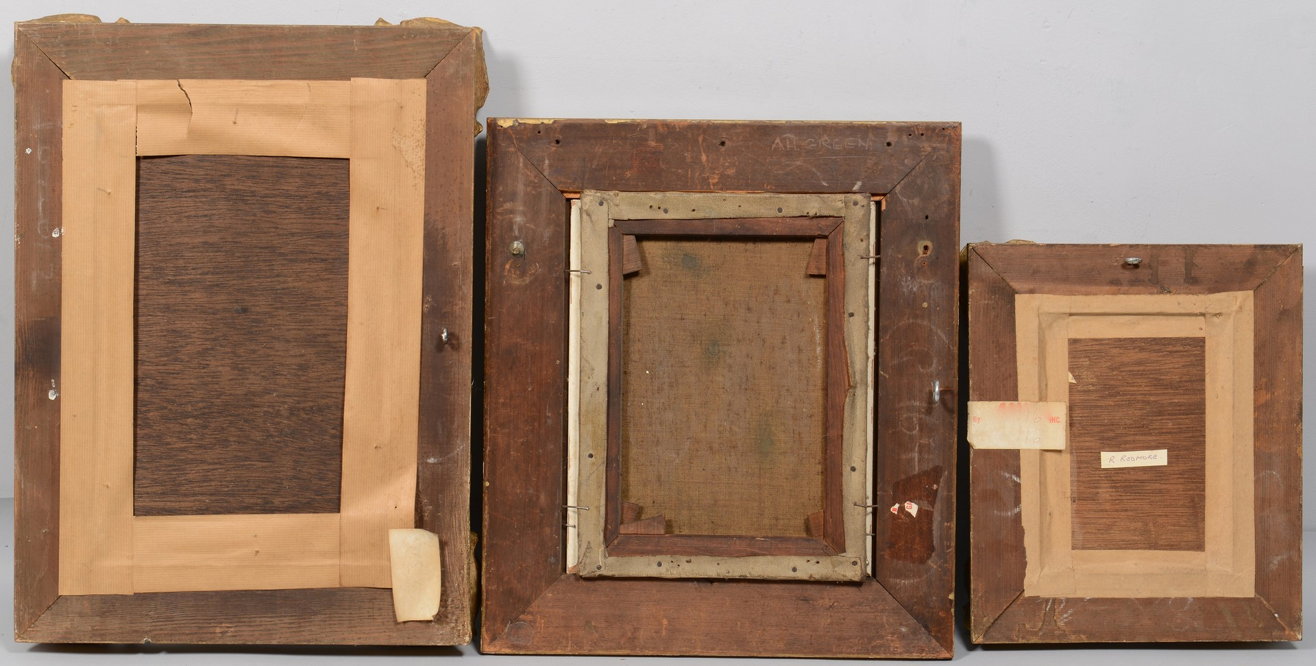 Lot 768: Grouping of 3 Marine Paintings