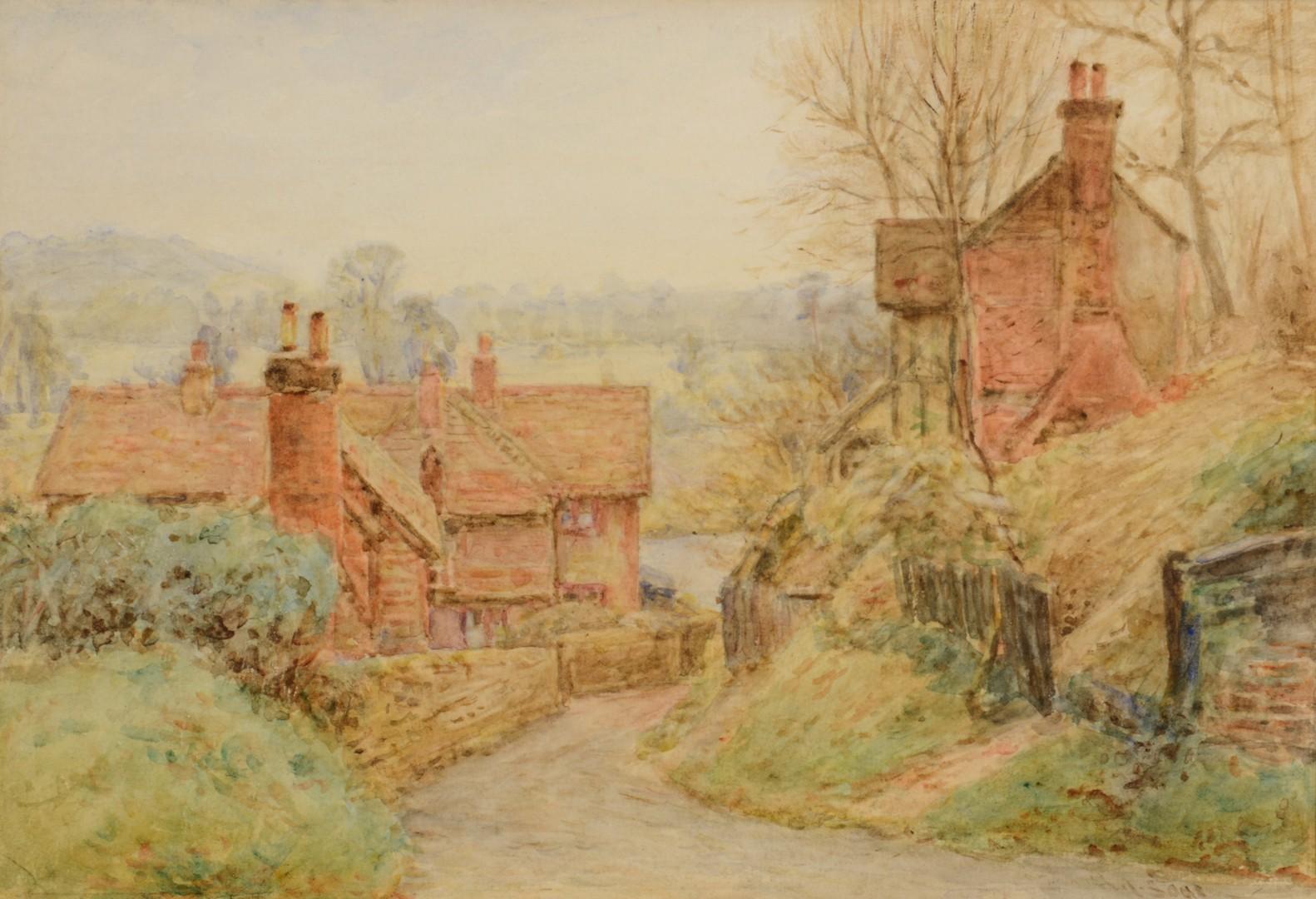 Lot 770: Henry James Sage, 3 British Watercolors