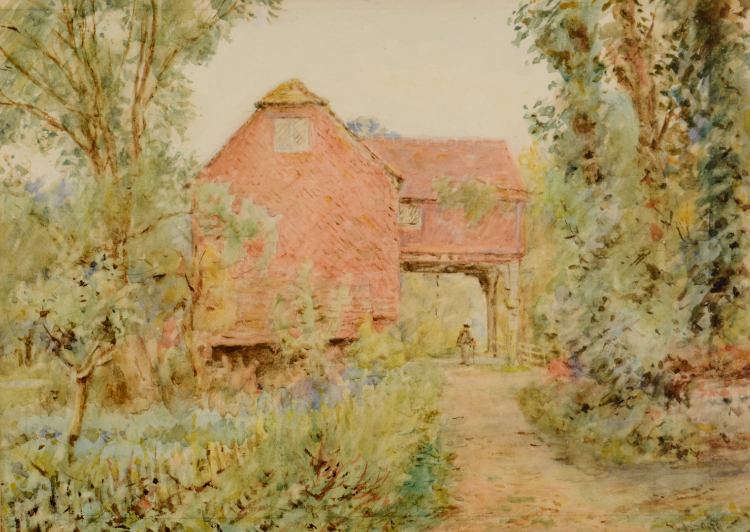 Lot 770: Henry James Sage, 3 British Watercolors