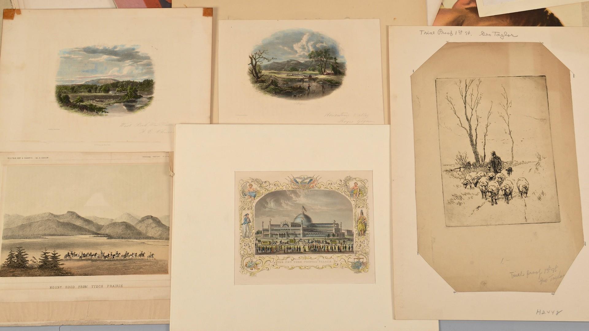 Lot 776: 32 Assorted Prints