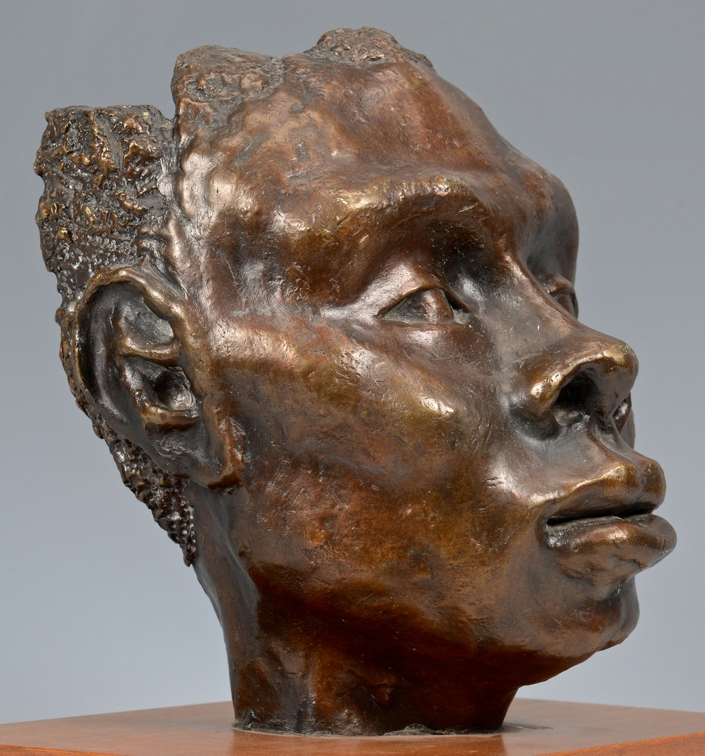 Lot 780: African American Bust and Mask