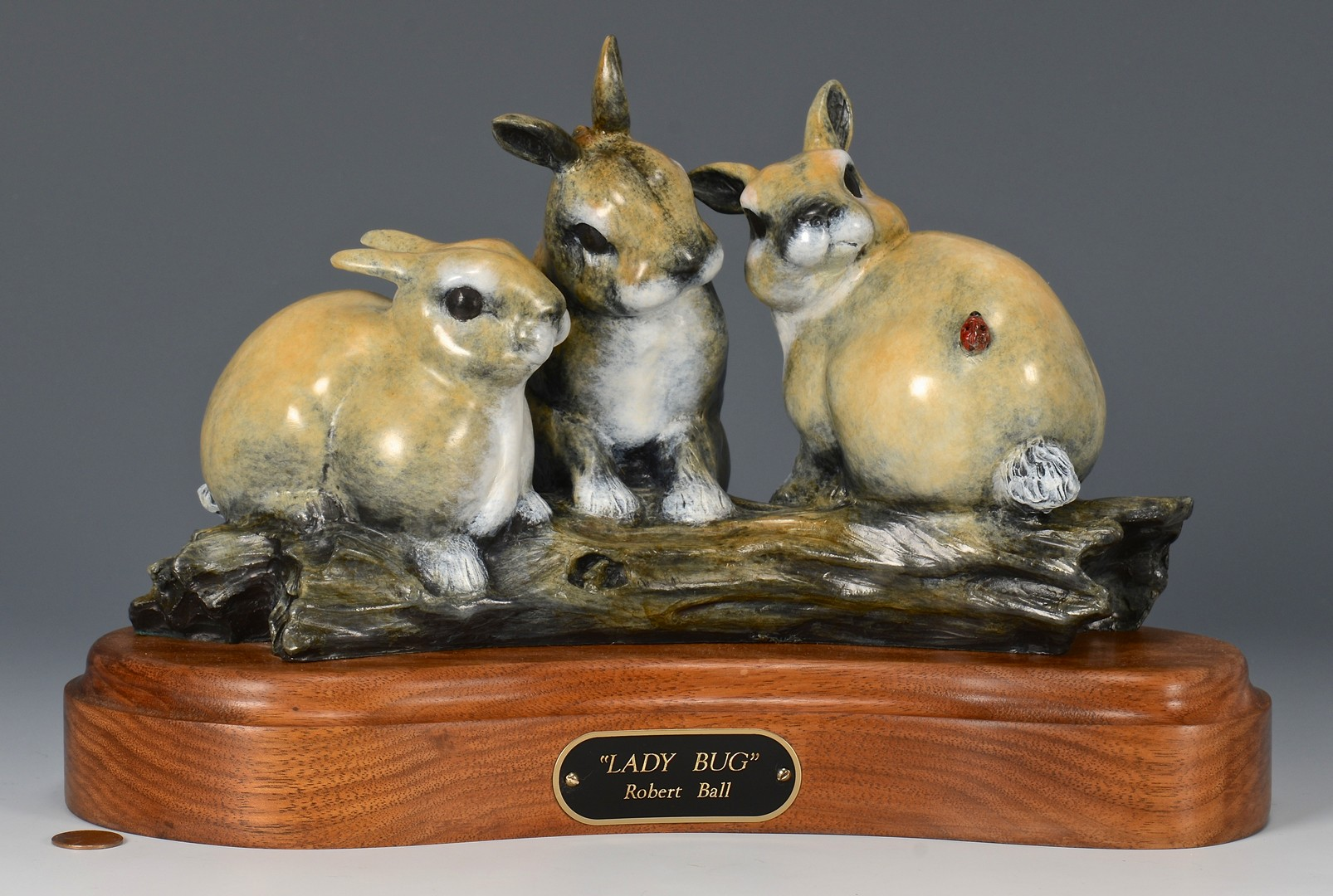 Lot 781: Two Robert Ball Bronze Sculptures