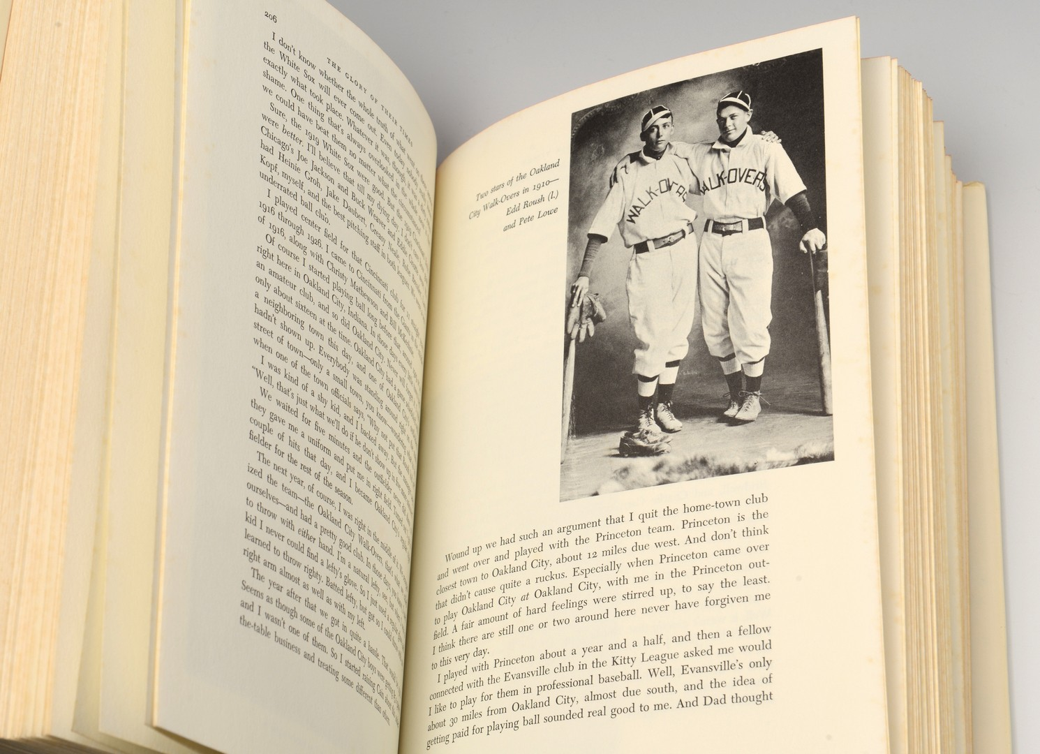 Lot 787: Baseball Themed Book, Glory of Their Times
