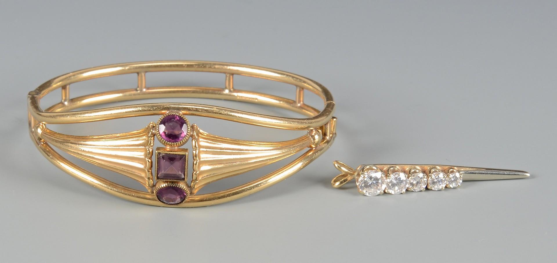 Lot 792: Assorted Ladies Jewelry, 4 pcs.