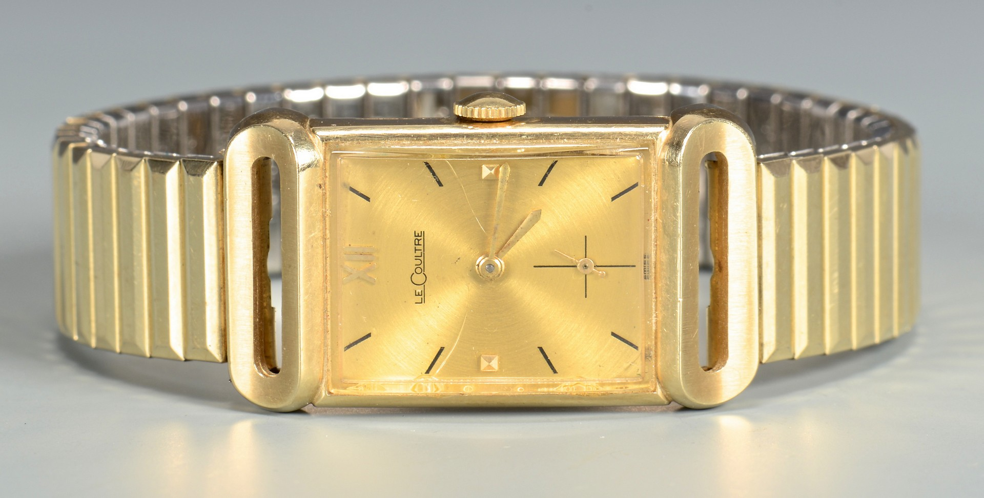 Lot 797: LeCoultre Watch, 10K Gold Medal And More