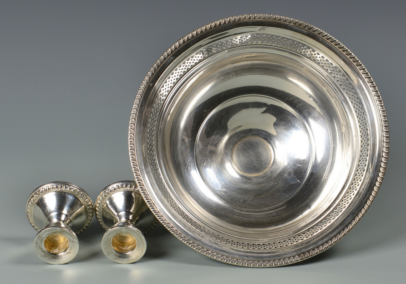 Lot 815: Group Sterling Hollowware, 6 items