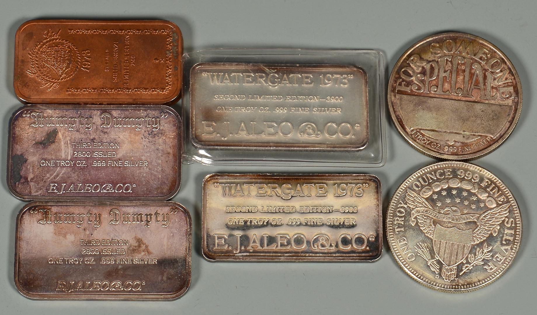Lot 817 4 International Sterling Silver Goblets Amp More