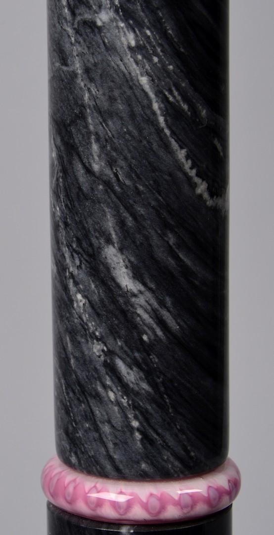 Lot 835: Mid-century Lamp w/ Art Glass Shade