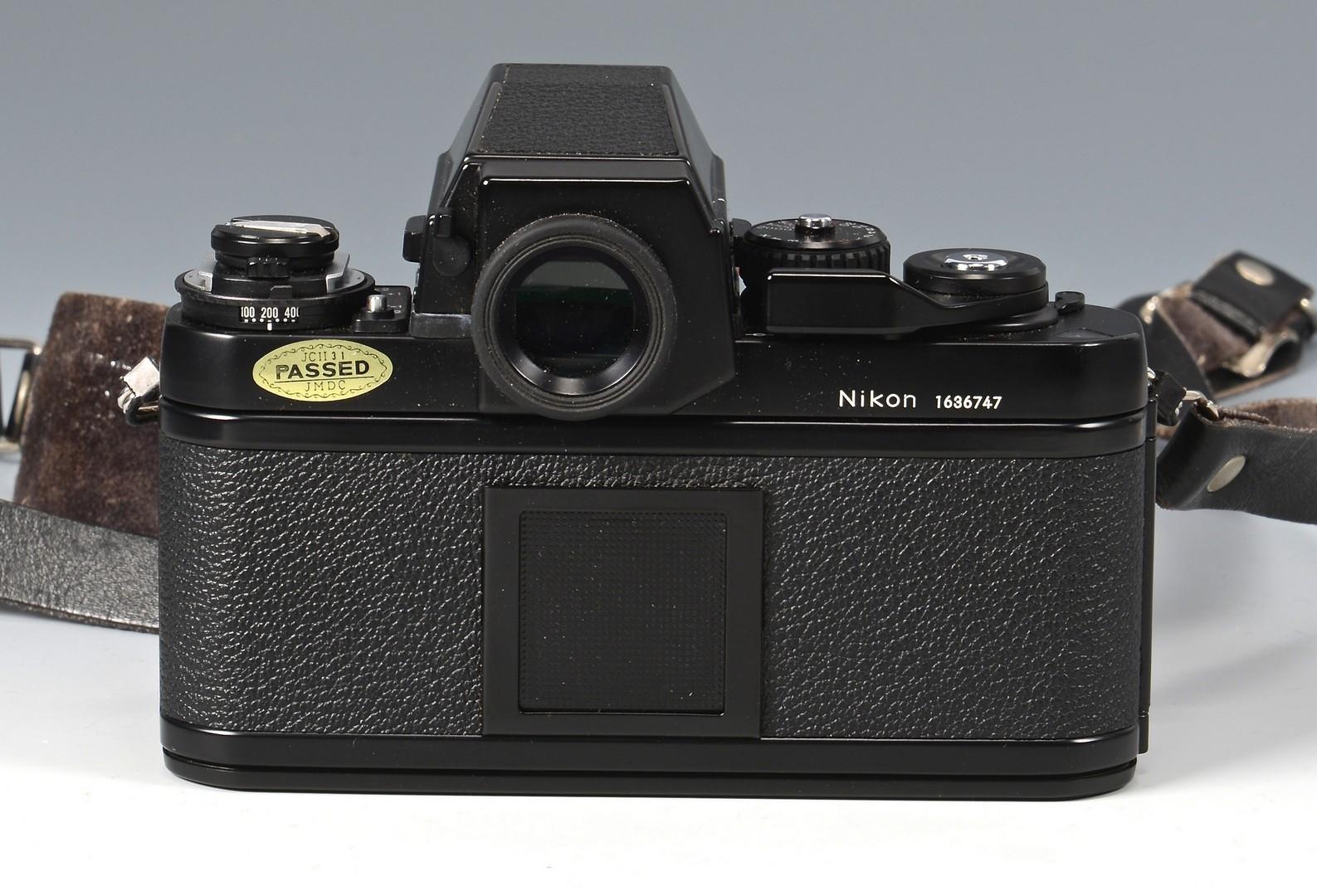 lot 838  nikon f3 camera w   accessories  u0026 manual