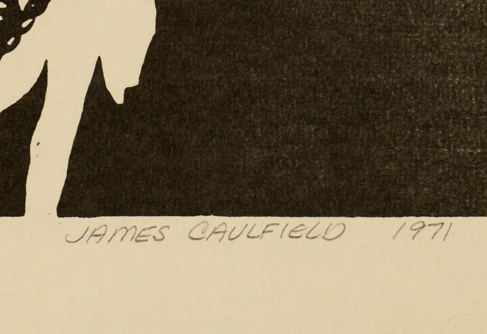 Lot 841: 4 Jazz Related Portraits by James Caulfield