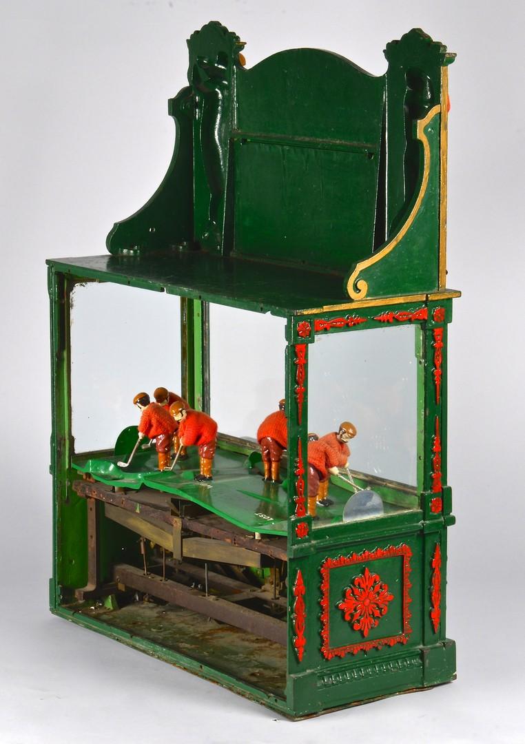 Lot 853: Penny Slot Golf Machine, circa 1900, Matthewson