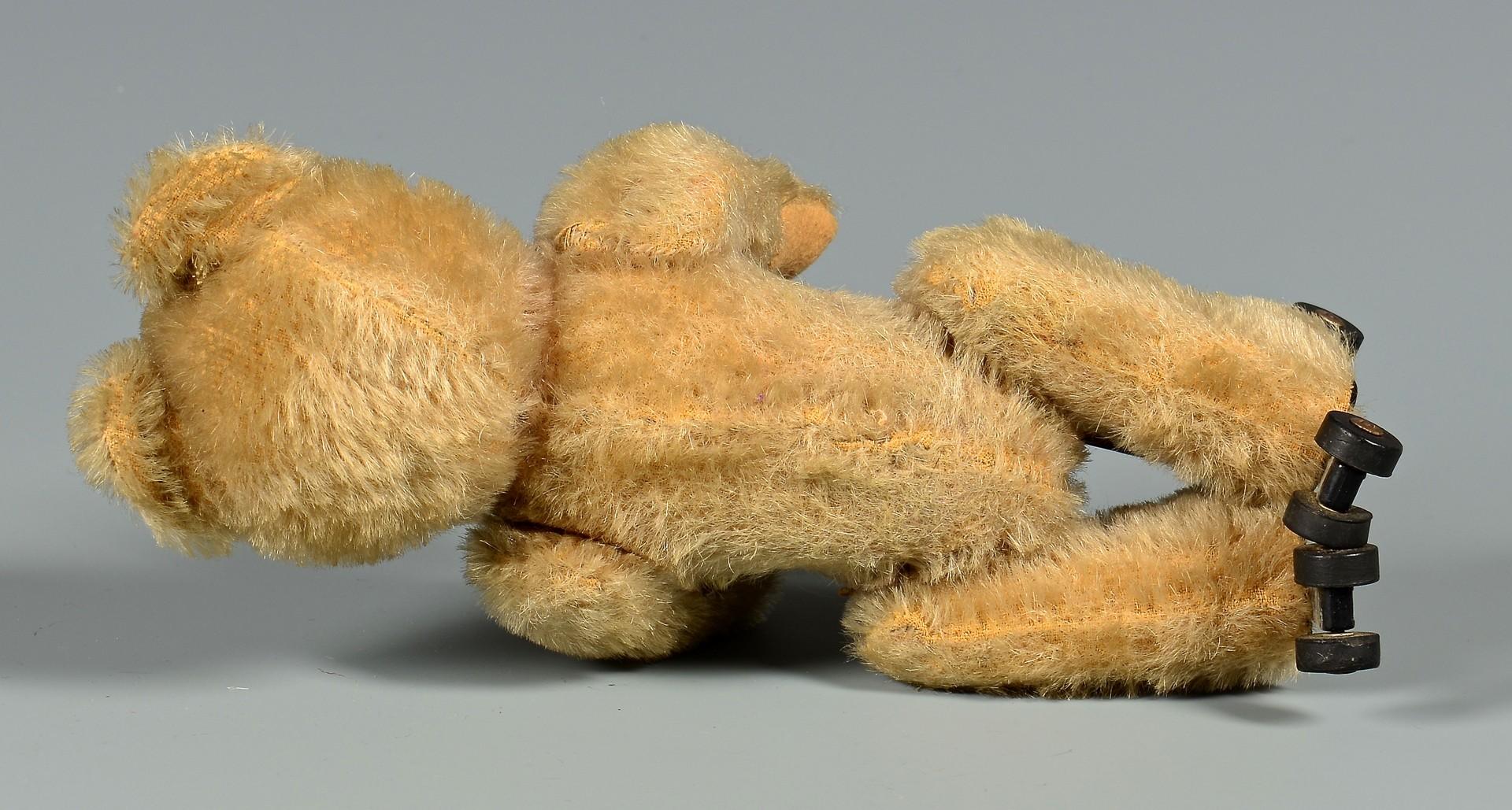 Lot 856: Schuco Rolly Bear on Wheels