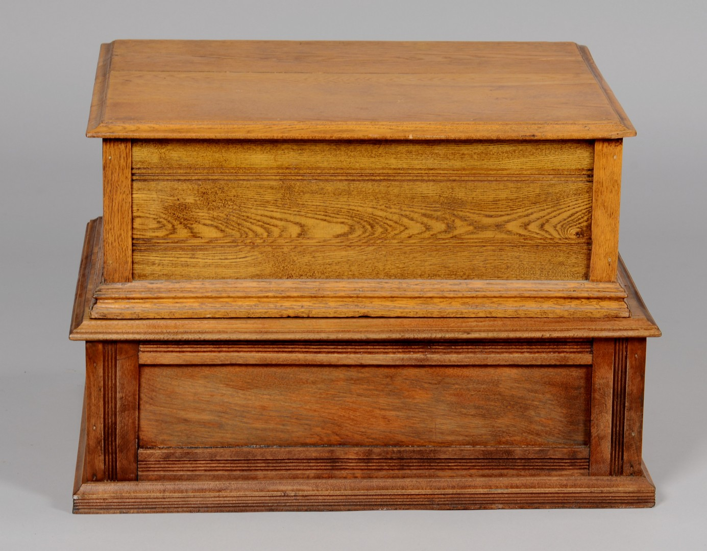 Lot 861: Two Clark's Advertising Spool Cabinets