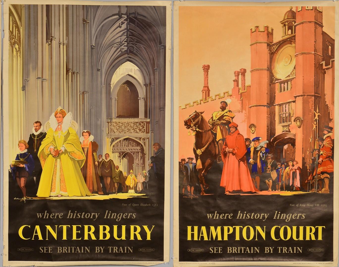 Lot 866: 4 British Railways Posters