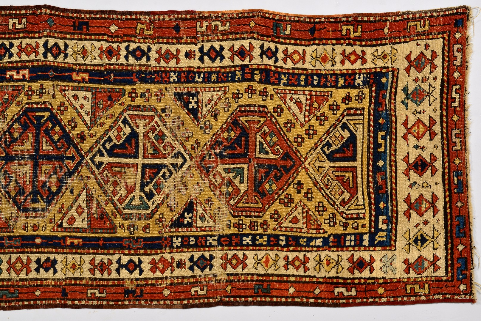 Lot 876: Persian Caucasian Rug Runner