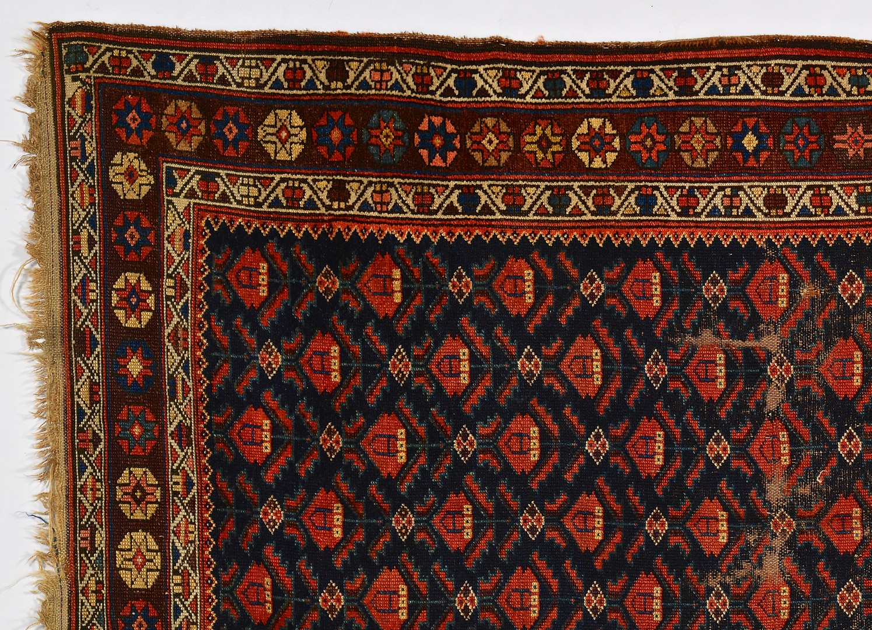 Lot 877: Persian Kurdish Rug, Early 20th Century