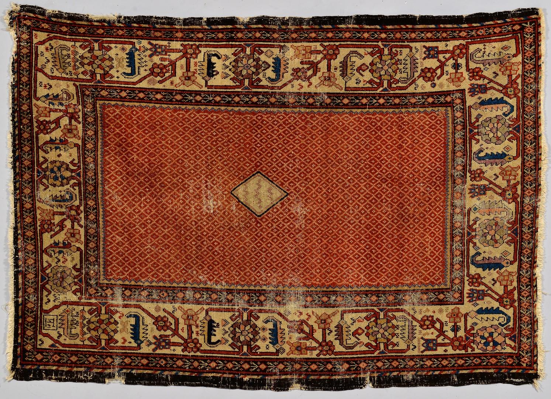 Lot 878: Persian Malayer Rug