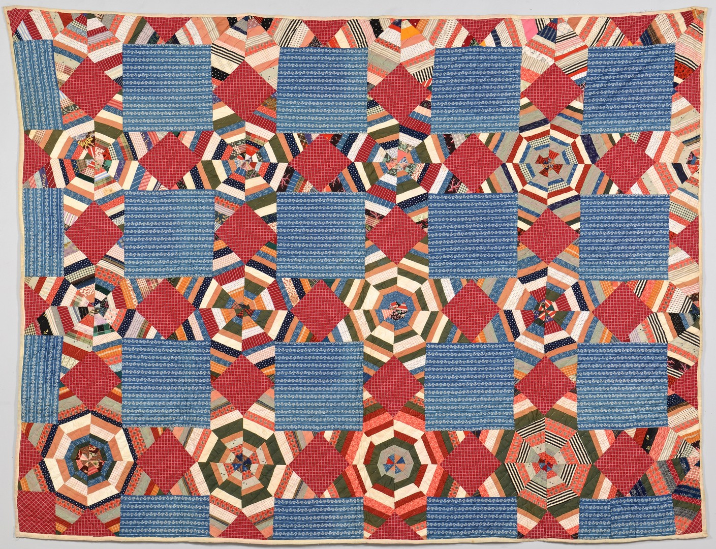 Lot 880: 4 East TN Pieced Cotton Quilts