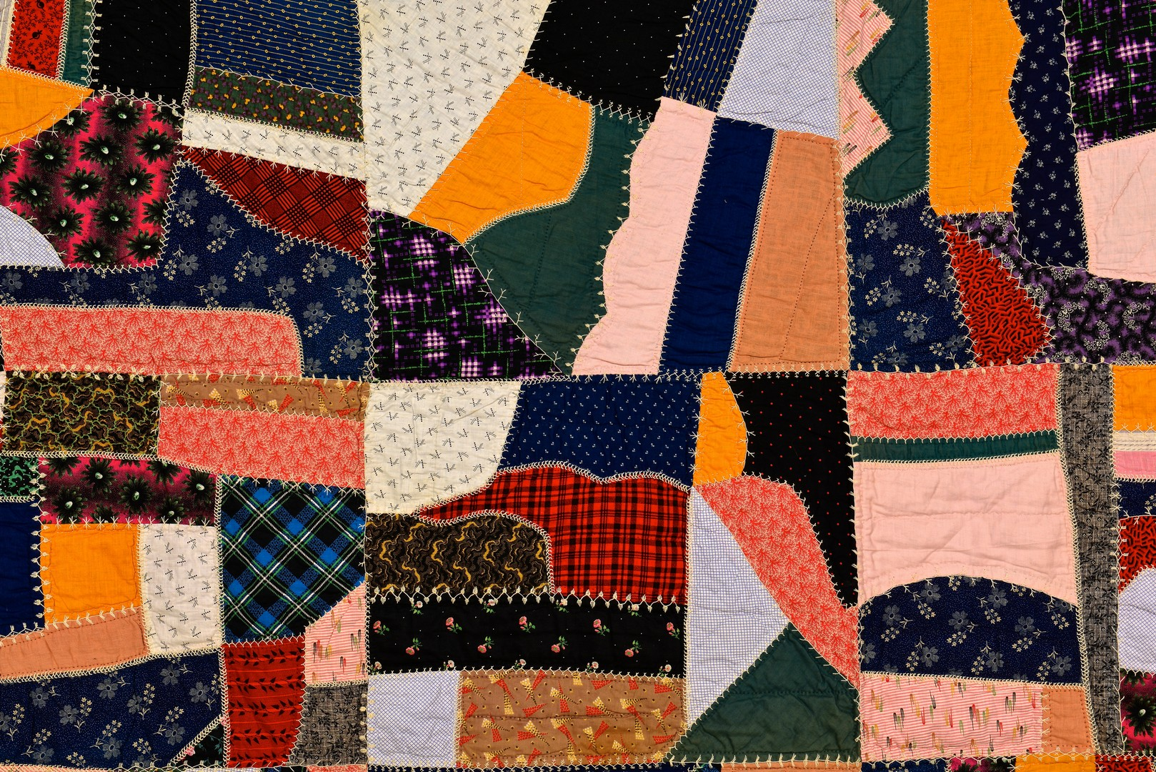 Lot 881: 3 East TN Quilts, incl. Crazy, Penny and Crochet