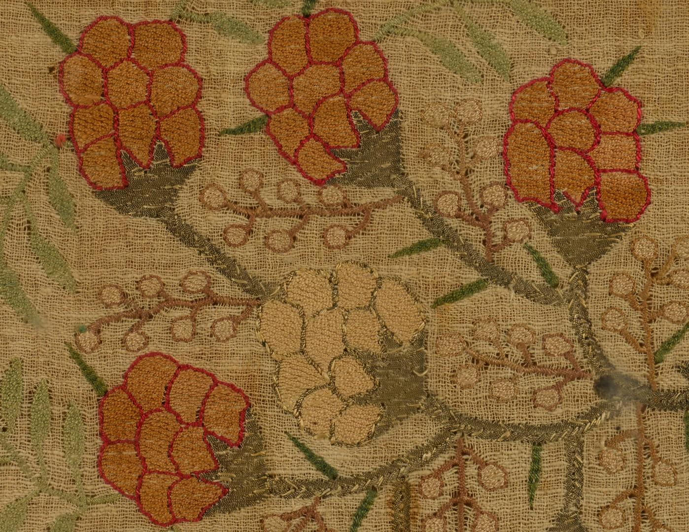 Lot 886: Early needlework textile
