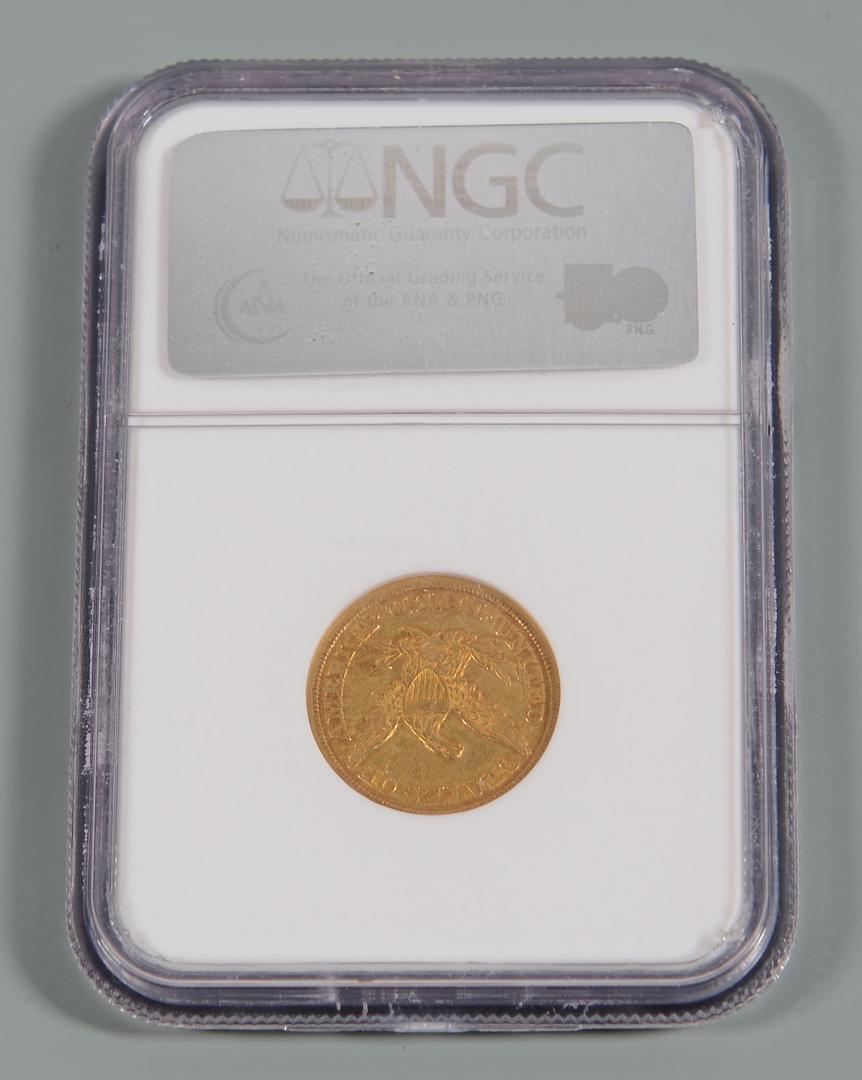 Lot 903 12 Us Morgan Silver Dollars Amp 5 Gold Coin