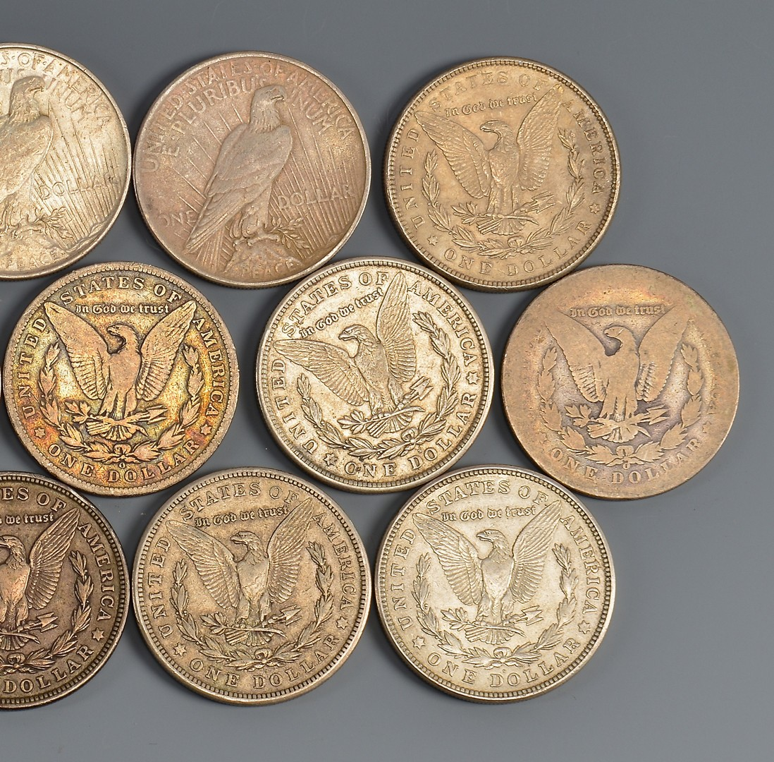 Lot 904: Grouping of U. S. Morgan Dollars, 16 total