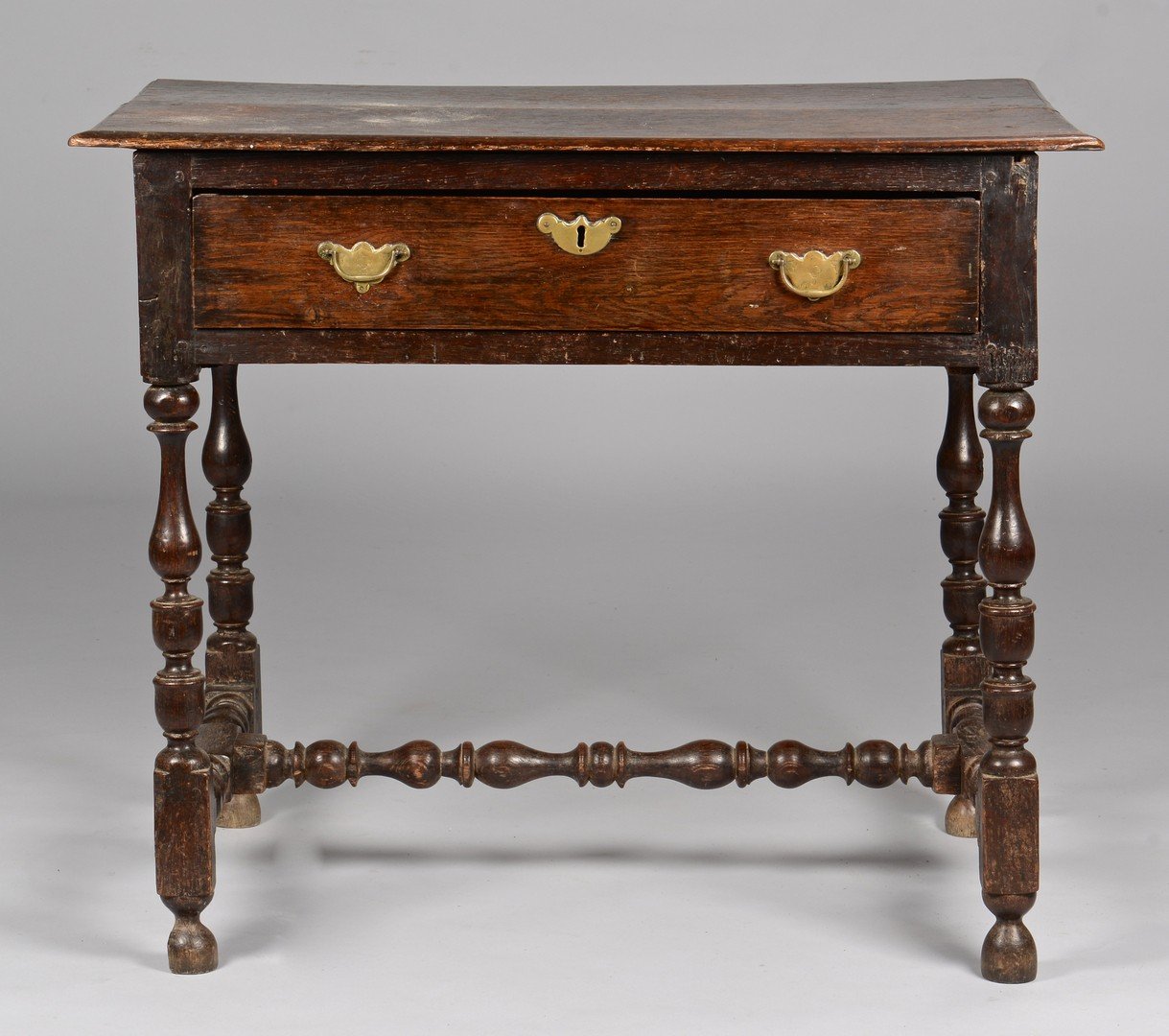Lot 95: English Jacobean Oak Work Table