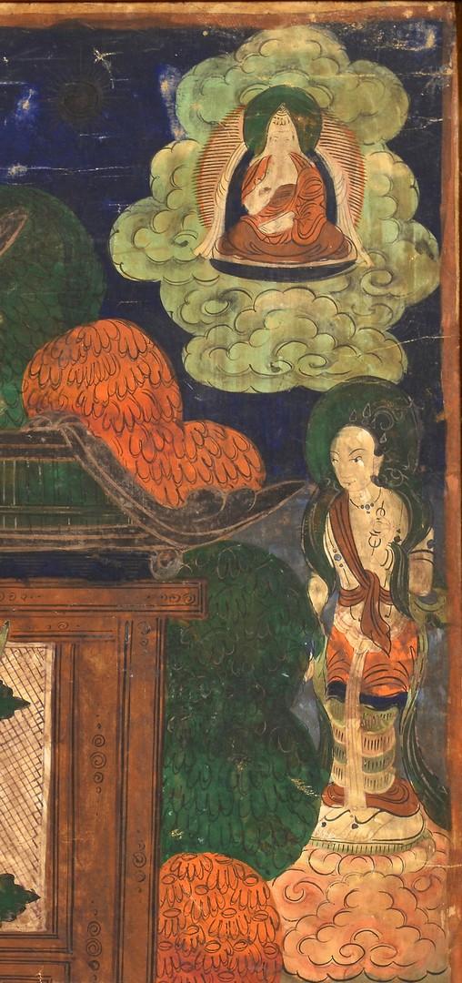 Lot 4010075: Sino-Tibetan Thangka