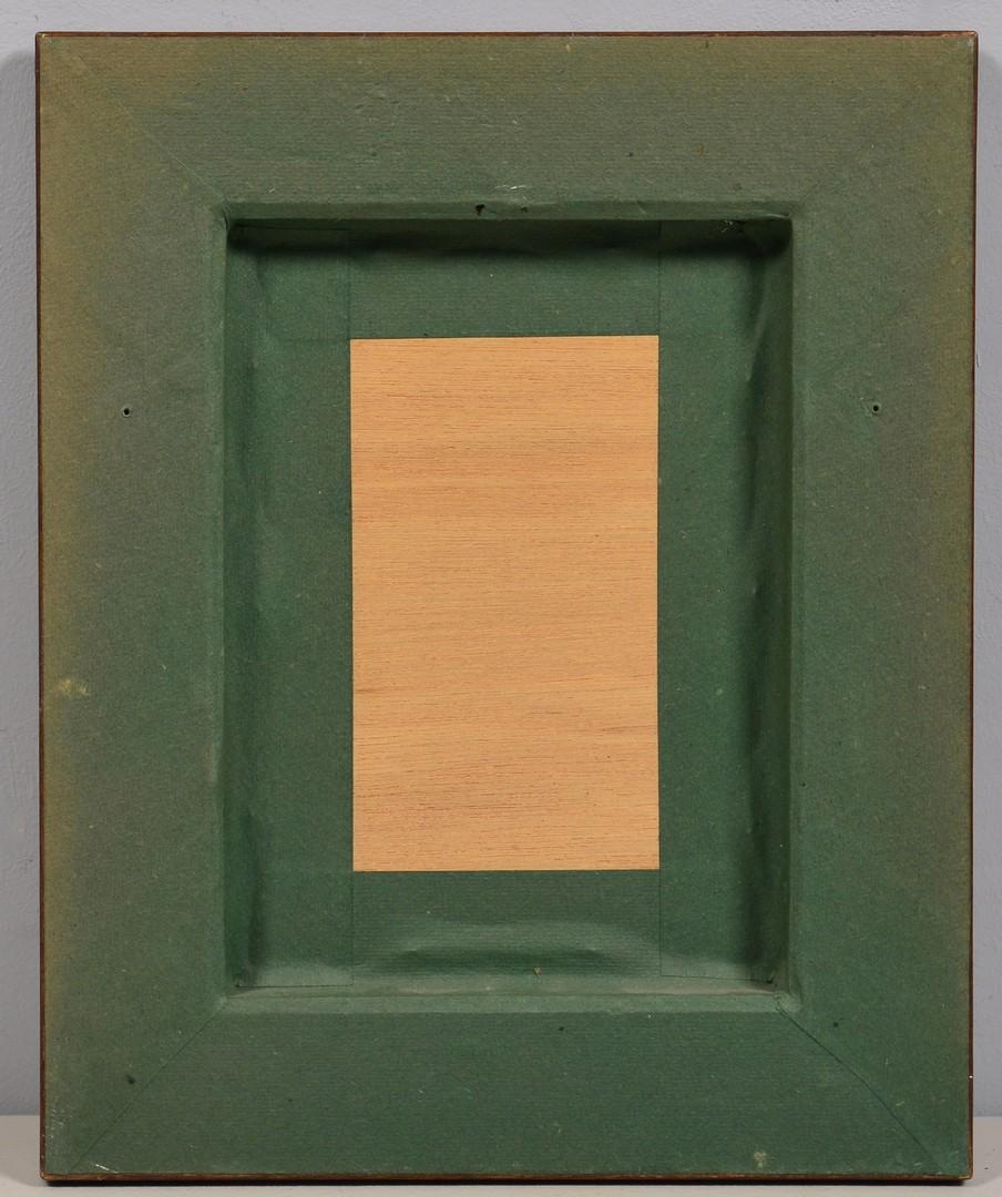"Lot 4010091: Hoshi Woodblock, ""Moon and Tree"""