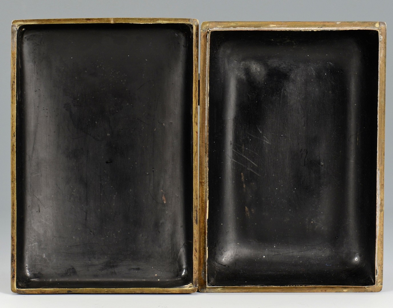 Lot 4010110: 2 Chinese Carved Lacquer Boxes