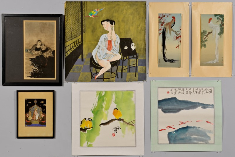 Lot 4010117: Asian Watercolors & Scroll Paintings